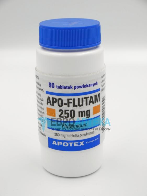 Апо-Флутам 250 мг, №90 - таблетки. Фото 1