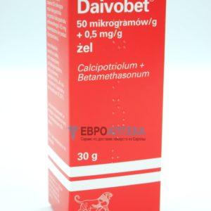 Дайвобет 50 мкг/г + 0,5 мг/г, 30 г - гель. Фото 1