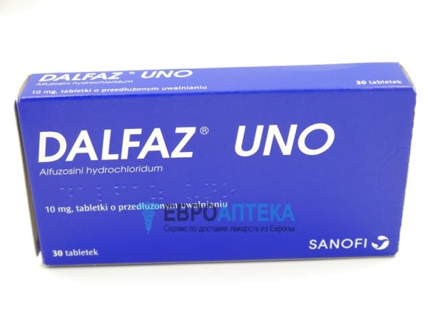 Дальфаз UNO 10 мг, №30 - таблетки. Фото 1