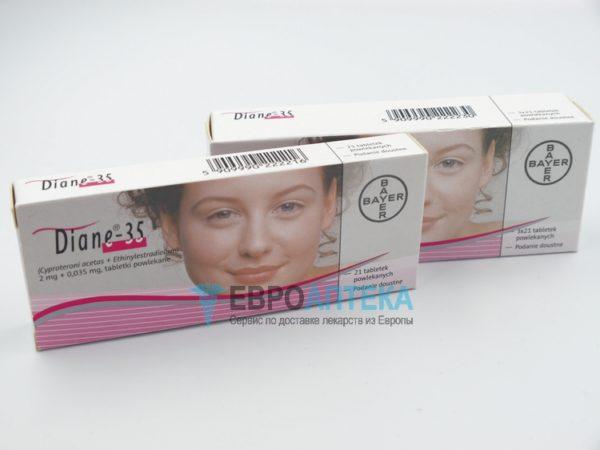 Диане 35 мг, №63 - таблетки. Фото 1