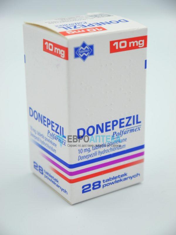 Донепезил 10 мг, 28 таб. Фото 1