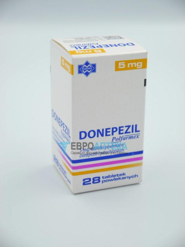Донепезил 5 мг, 28 таб. Фото 1