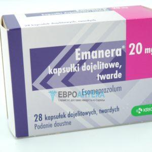 Эманера 20 мг, 28 таб. Фото 1