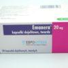 Эманера 20 мг, 28 таб. Фото 1 1628
