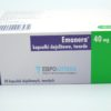 Эманера 40 мг, 28 таб. Фото 1 1631