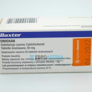 Эндоксан 50 мг, №50 - таблетки. Фото 1