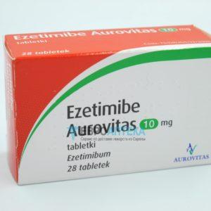 Эзетимиб Ауровит 10 мг, 28 таб. Фото 1