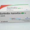 Эзетимиб Ауровит 10 мг, 28 таб. Фото 1 1647