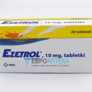 Эзетрол 10 мг, №28 - таблетки. Фото 1