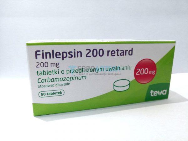 Финлепсин Ретард 200 мг, №50 - таблетки