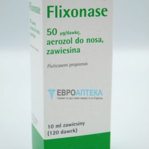 Фликсоназе 50 мкг/доза, 10 мл (120 доз). Фото 1