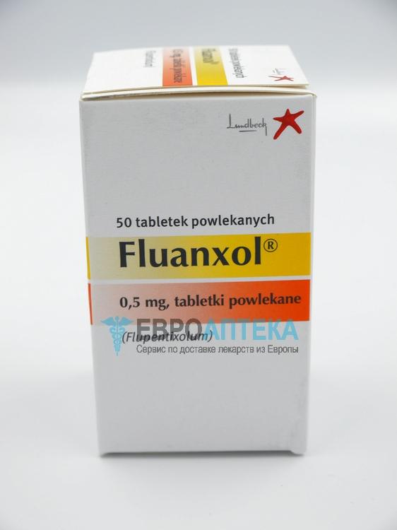 Флюанксол 0.5 мг, №50 - таблетки. Фото 1
