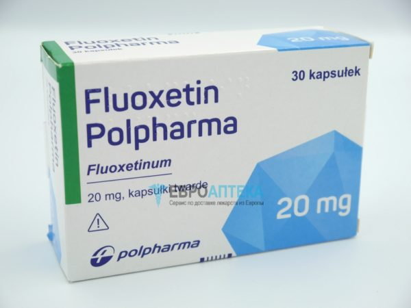 Флуоксетин Полфарма 20 мг, №30 - капсулы. Фото 1