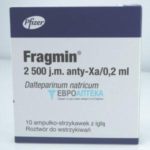 Фрагмин 2500 МЕ, 0,2 мл. Фото 1