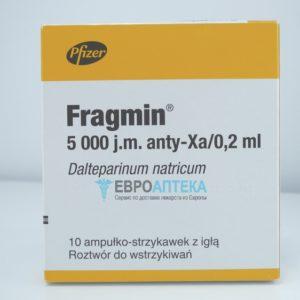 Фрагмин 5000 МЕ, 0,2 мл. Фото 1