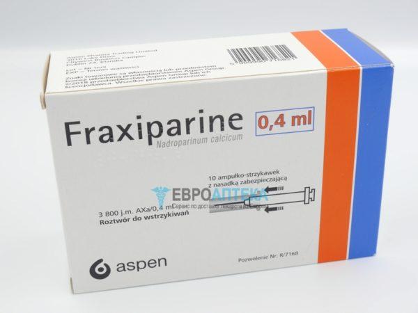 Фраксипарин 3800 МЕ, 0,4 мл. Фото 1