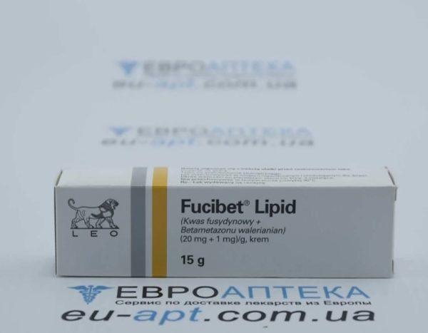 Фуцибет Липид (20 мг + 1 мг)/г, 15 г - крем