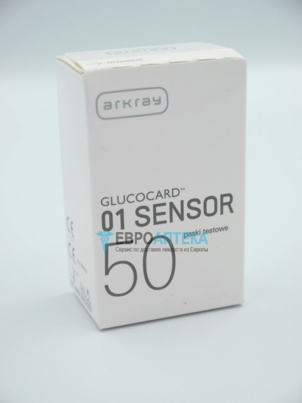 Глюкокард 01 Сенсор, №50 - тестовые полоски. Фото 1
