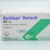 Кетилепт Ретард 50 мг, 60 таб. Фото 1 1667