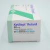 Кетилепт Ретард 50 мг, 60 таб. Фото 1 1670