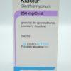 Клацид 250 мг / 5 мл, 100 мл - гранулы. Фото 1 2223
