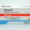 Клацид 500 мг, №14 - таблетки. Фото 1 2228