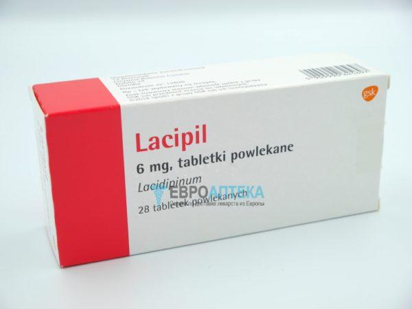 Лаципил 6 мг, 28 таб. Фото 1