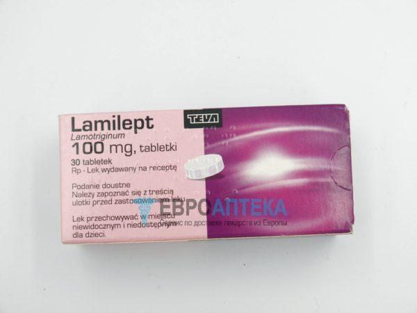 Ламилепт 100 мг, №30 - таблетки. Фото 1