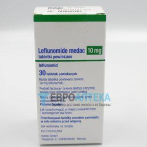 Лефлуномид Медак 10 мг, №30 - таблетки. Фото 1