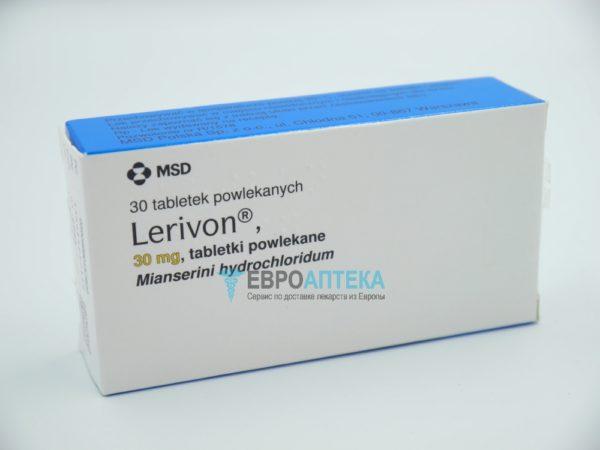 Леривон 30 мг, 30 таб. Фото 1