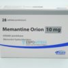 Мемантин Орион 10 мг, №28 - таблетки. Фото 1 2074