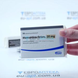 Мемантин Орион 20 мг, №56 - таблетки