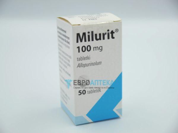Милурит 100 мг, 50 таб. Фото 1