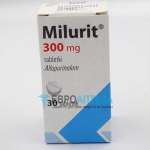 Милурит 300 мг, №30 - таблетки. Фото 1