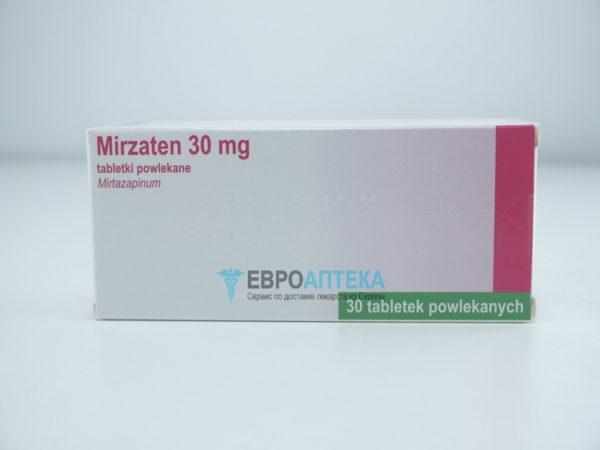 Мирзатен 30 мг, 30 таблеток. Фото 1