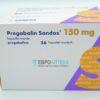 Прегабалин Сандоз 150 мг, №56 - капсулы. Фото 1 2131