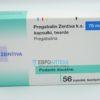 Прегабалин Зентива 75 мг, №56 - капсулы. Фото 1 2137