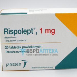 Рисполепт 1 мг, №20 - таблетки. Фото 1