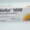 Сиофор 1000 мг, №30 - таблетки. Фото 1 2176