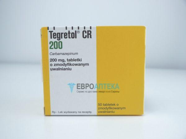 Тегретол 200 мг, таблетки. Фото 1