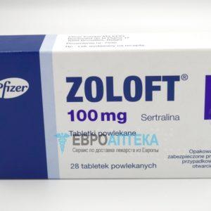 Золофт 100 мг, №28 - таблетки. Фото 1